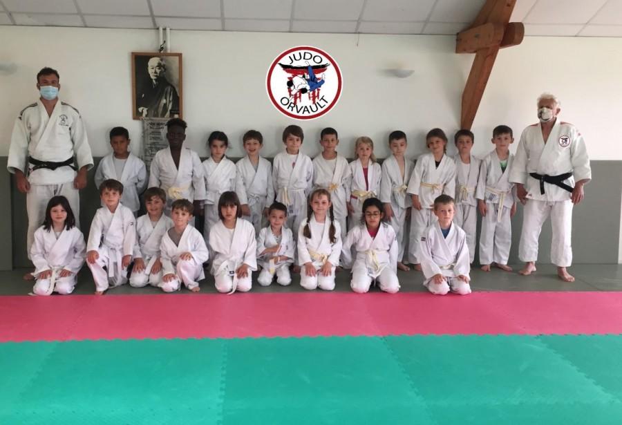 Reprise des entrainements pour nos petits judokas.